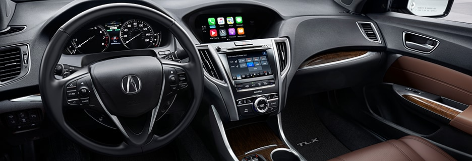 Acura TLX Interior Vehicle Features