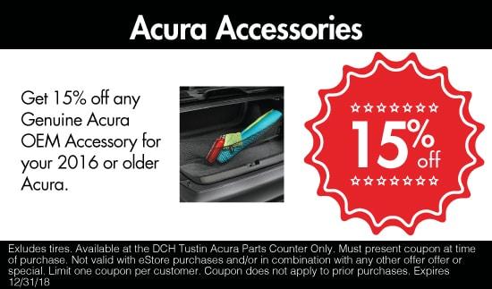 Acura Part Specials In Tustin Acura Dealer Serving Cerritos - Acura parts dealer