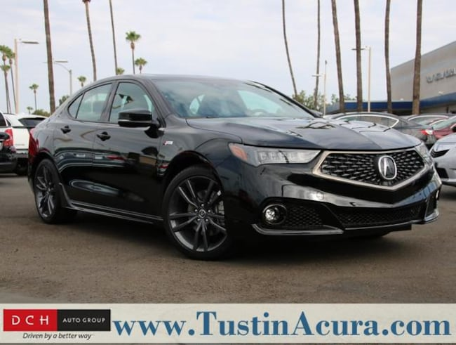 New 2019 Acura TLX 3.5 V-6 9-AT P-AWS with A-SPEC Sedan Tustin