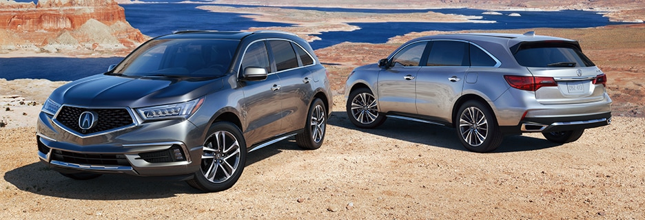 Acura MDX Exterior Vehicle Features