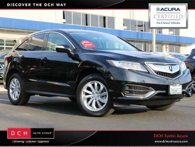 Used 2016 Acura RDX Base w/Technology Package SUV Tustin, CA