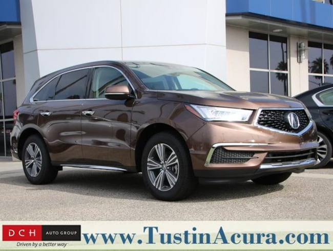 New 2019 Acura MDX Base SUV Tustin