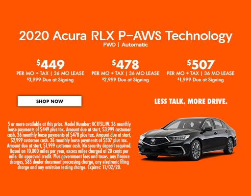 2020 Acura RLX P-AWS Technology FWD   Automatic