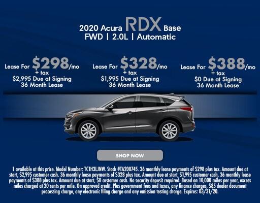 New 2020 Acura RDX Base