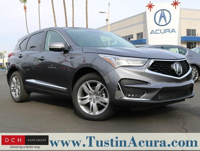 New 2019 Acura Rdx With Advance Package Suv Modern Steel Metallic