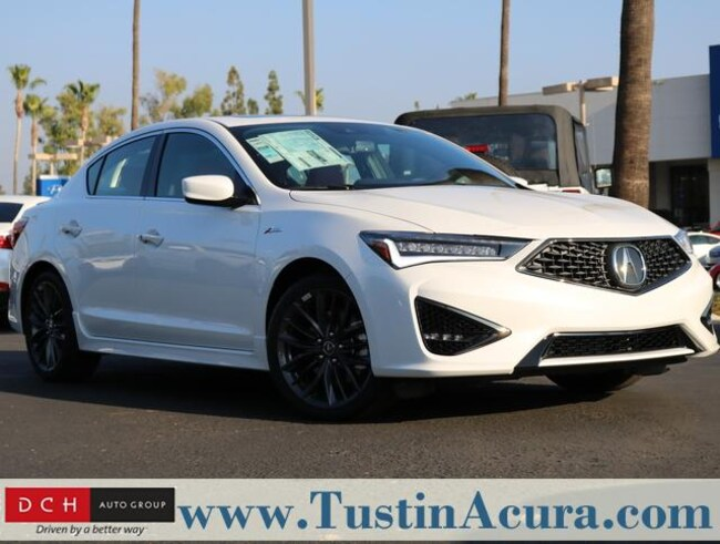 New 2019 Acura ILX with Premium and A-Spec Package Sedan Tustin