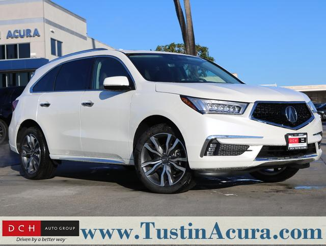 New 2019 Acura MDX with Advance and Entertainment Packages SUV Tustin, CA
