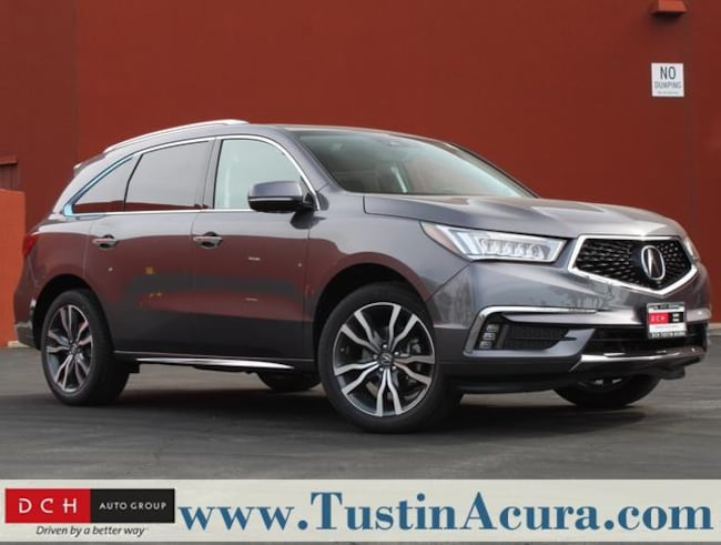 New 2019 Acura Mdx Sh Awd With Advance Package Suv Modern Steel