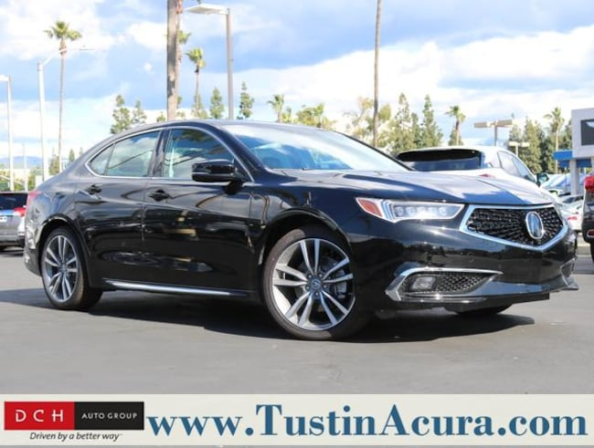 New 2019 Acura TLX 3.5 V-6 9-AT SH-AWD with Advance Package Sedan Tustin