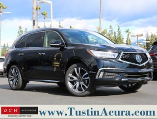 New 2019 Acura MDX SH-AWD with Advance Package SUV Tustin, CA