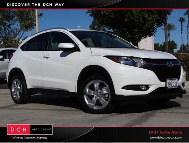 Used 2016 Honda HR-V EX-L w/Navigation SUV Tustin