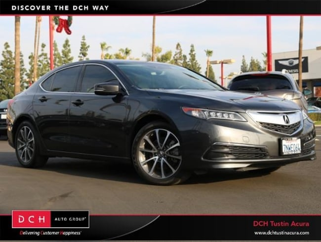 Used 2015 Acura TLX 3.5L V6 SH-AWD w/Technology Package Sedan Tustin, CA