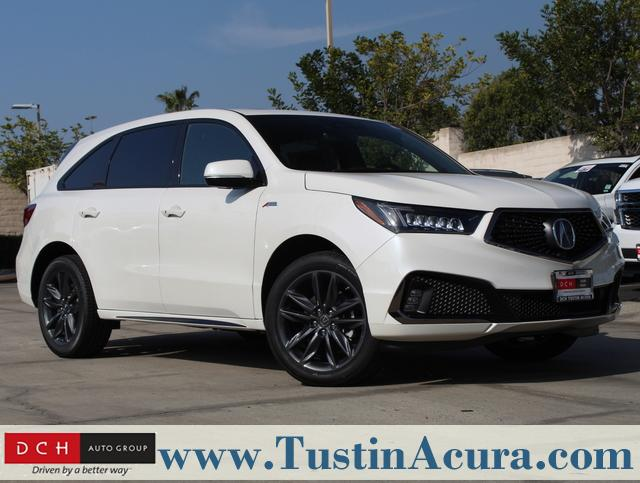 New 2019 Acura Mdx Sh Awd With A Spec Package Suv White Diamond
