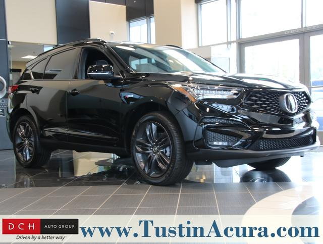 New 2019 Acura Rdx With A Spec Package Suv Majestic Black Pearl For