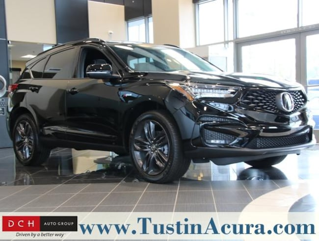 New 2019 Acura RDX with A-Spec Package SUV Tustin
