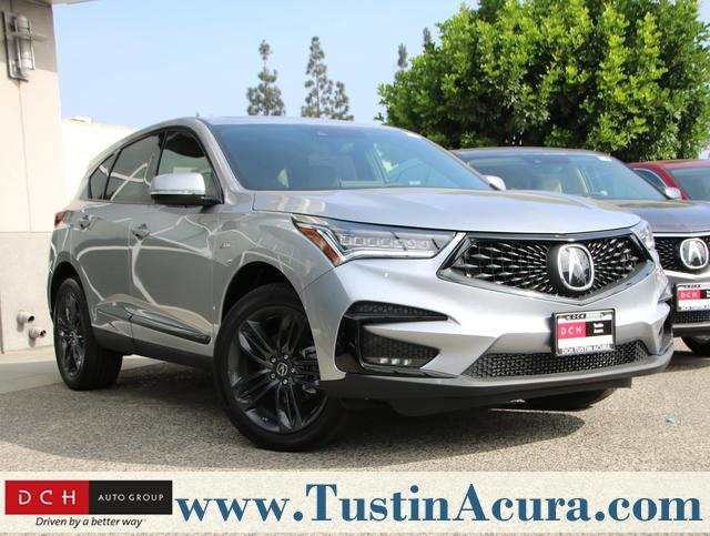 New 2019 Acura RDX with A-Spec Package SUV Lunar Silver