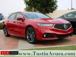 New 2019 Acura TLX 2.4 8-DCT P-AWS with A-SPEC Sedan Tustin, CA