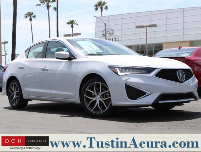 New 2019 Acura ILX with Premium Sedan Tustin
