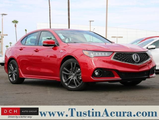 New 2019 Acura TLX 3.5 V-6 9-AT P-AWS with A-SPEC RED Sedan Tustin, CA