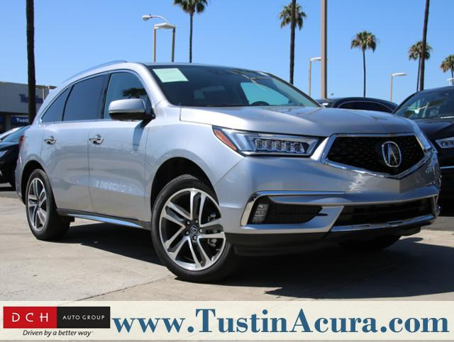 New 2018 Acura MDX V6 with Advance Package SUV Tustin, CA