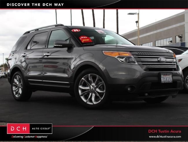 Used 2014 Ford Explorer Limited SUV Tustin