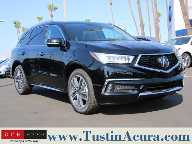 New 2018 Acura Mdx Sport Hybrid Sh Awd With Advance Package Suv
