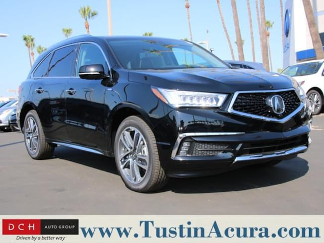 New 2018 Acura MDX Sport Hybrid SH-AWD with Advance Package SUV Tustin