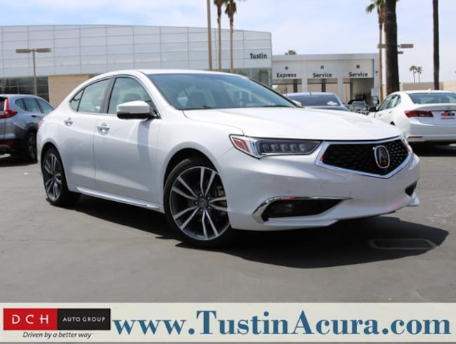 New 2019 Acura TLX 3.5 V-6 9-AT P-AWS with Advance Package Sedan Tustin