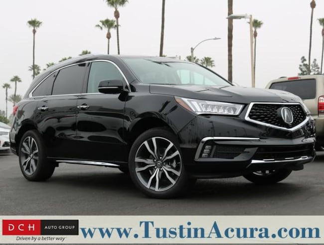 new 2019 acura mdx with advance package suv majestic black. Black Bedroom Furniture Sets. Home Design Ideas