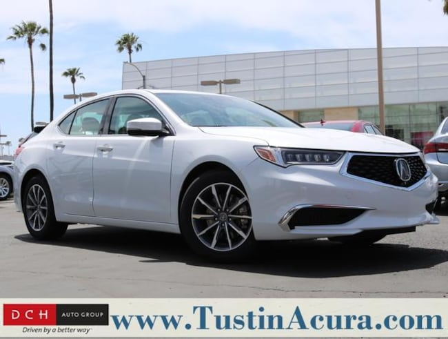 New 2019 Acura TLX 2.4 8-DCT P-AWS with Technology Package Sedan Tustin