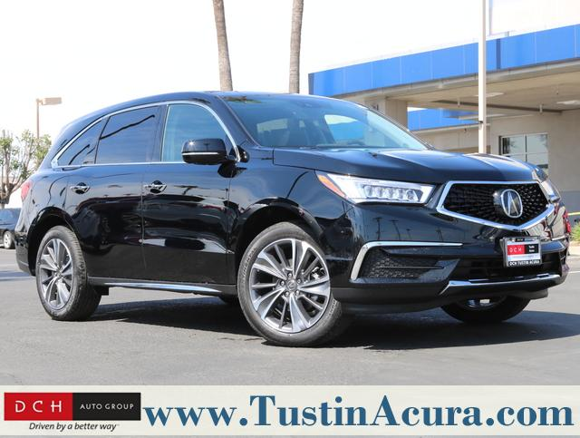 Acura Mission Viejo >> New 2019 Acura Mdx With Technology Package Suv Majestic Black Pearl
