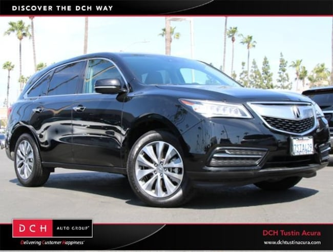 Used 2016 Acura MDX 3.5L w/Technology Package SUV Tustin