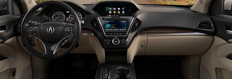 Acura MDX Interior Vehicle Features