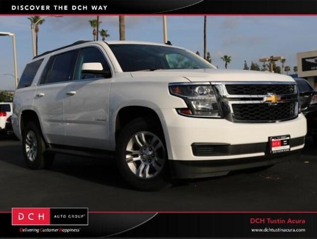 Used 2015 Chevrolet Tahoe LT SUV Tustin