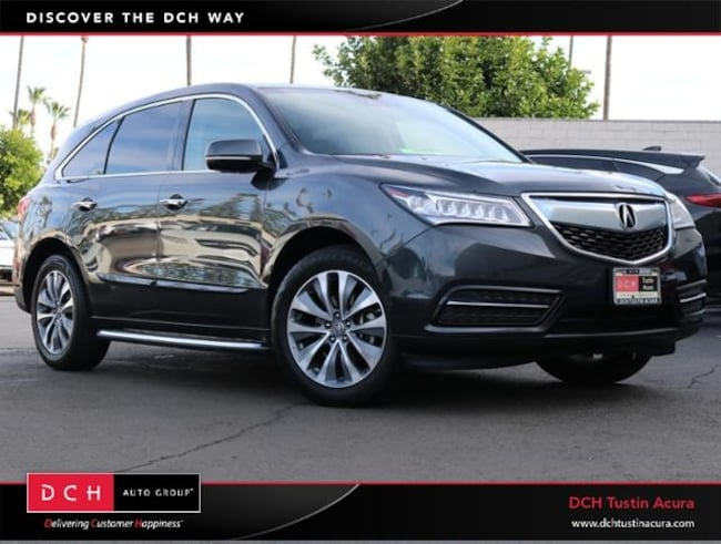 Used 2016 Acura MDX 3.5L SH-AWD Tech, Entertainment & Acurawatch Plus SUV Tustin