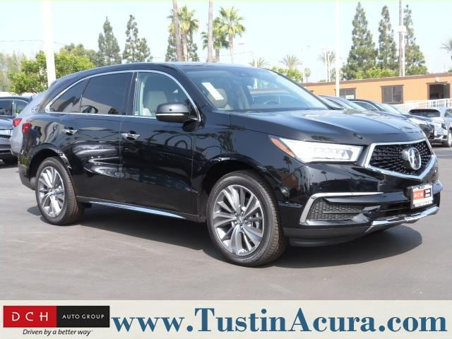 New 2019 Acura Mdx Sh Awd With Technology Package Suv Majestic Black