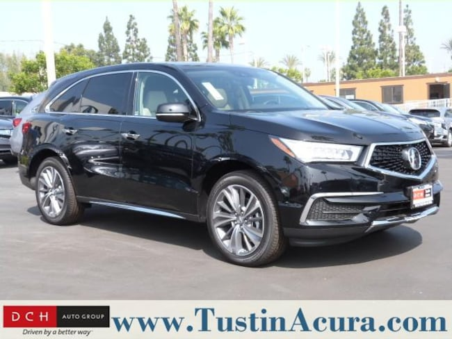 new 2019 acura mdx sh awd with technology package suv. Black Bedroom Furniture Sets. Home Design Ideas