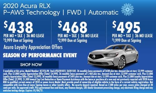 2020 Acura RLX  P-AWS Technology | FWD | Automatic