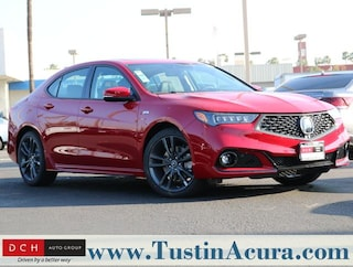 New 2019 Acura TLX 3.5 V-6 9-AT P-AWS with A-SPEC Sedan Tustin, CA