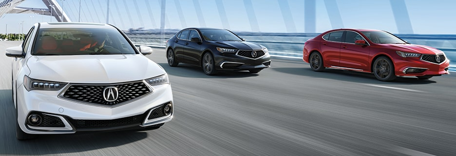 Acura TLX Exterior Vehicle Features