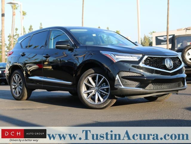 New 2019 Acura Rdx Sh Awd With Technology Package Suv Majestic Black