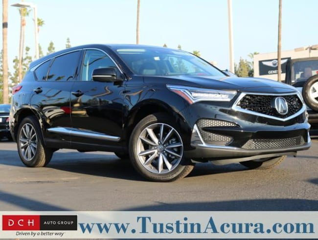 New 2019 Acura RDX SH-AWD with Technology Package SUV Tustin