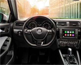 Volkswagen vehicle dashboard