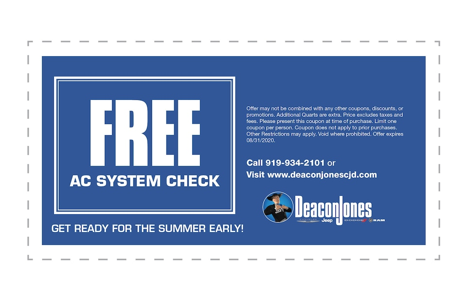 Free AC System Check