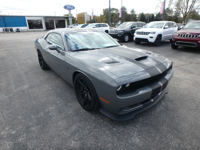 New 2018 Dodge CHALLENGER SRT HELLCAT SRT HELLCAT Coupe for sale in Pinconning, MI