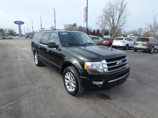 Used 2015 Ford Expedition EL Limited For Sale Pinconning, Michigan