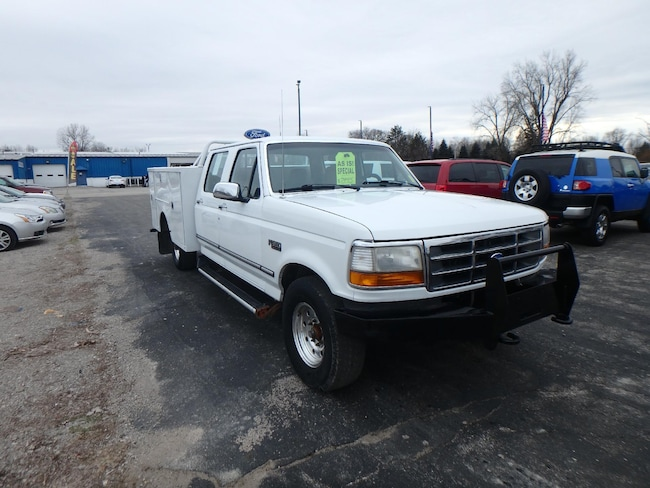 Used 1995 Ford F-350 Crew Cab For Sale Pinconning, Michigan