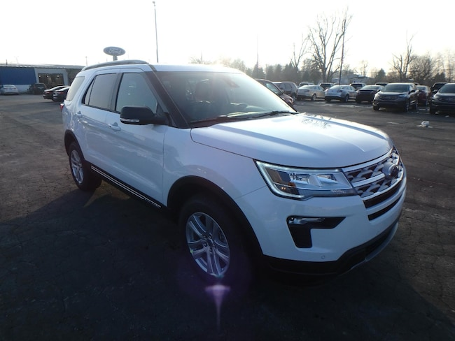 New 2019 Ford Explorer XLT SUV For Sale/Lease Pinconning, Michigan