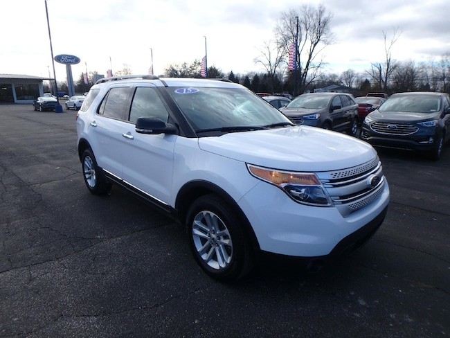 Used 2015 Ford Explorer XLT SUV For Sale Pinconning, Michigan