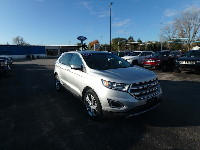 Used 2017 Ford Edge Titanium SUV For Sale Pinconning, Michigan
